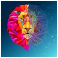 Coin Lion LION Logo